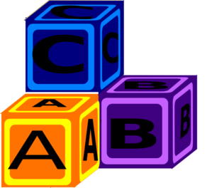 picture download Clip art at clker. Blocks clipart abc box