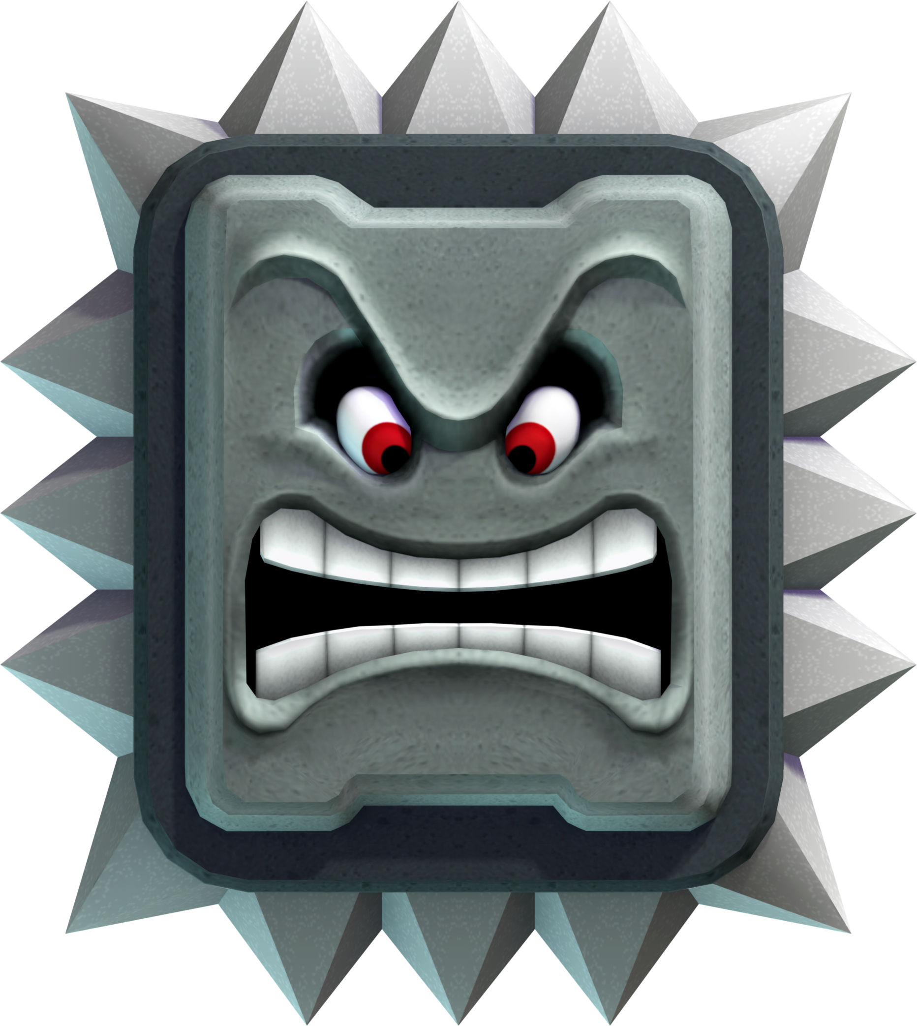 png free download Block clipart toy game. Thwomp kaizo mario maker