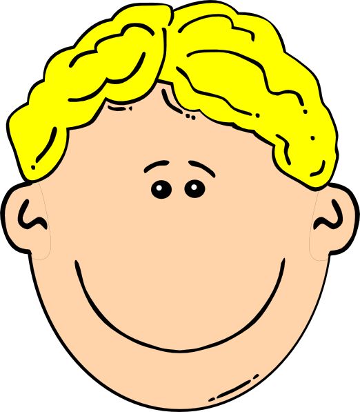 clipart free Blonde Boy Clip Art at Clker