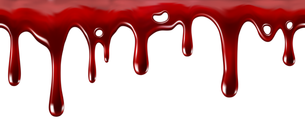 clipart royalty free Dripping Blood Decor Transparent PNG Clip Art Image