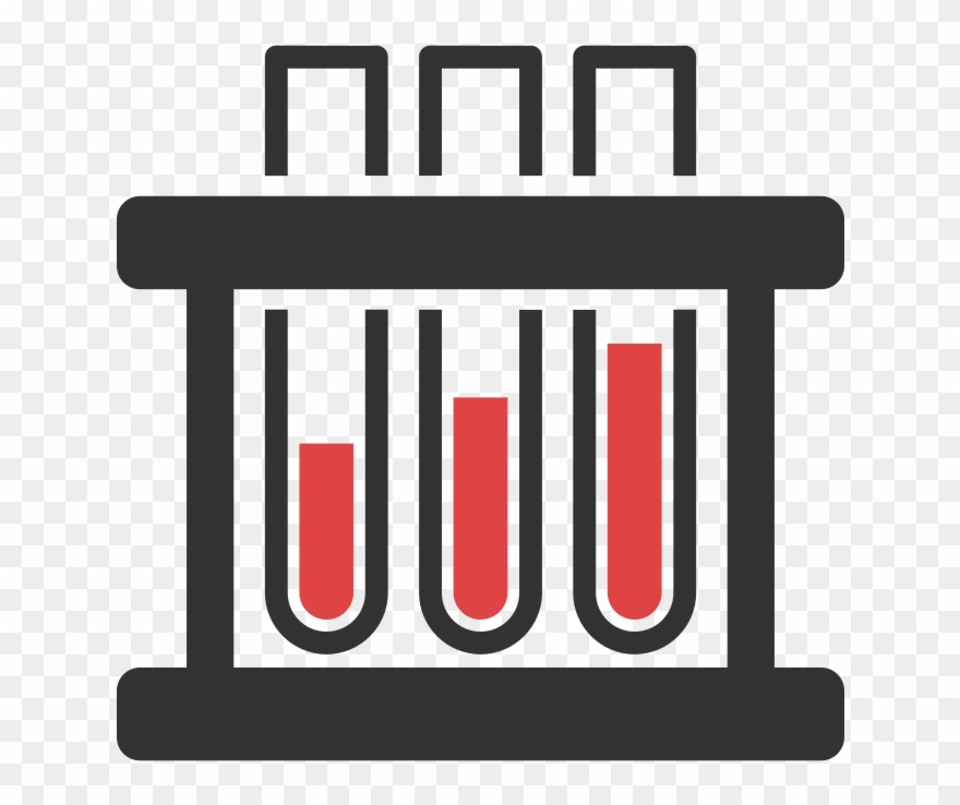 svg Lab testing clipart. Direct access blood tests