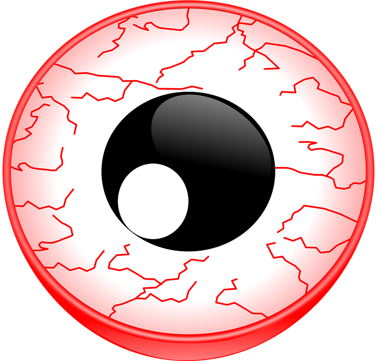 vector freeuse stock Vision clipart cute eye. Bloodshot eyes png transparent