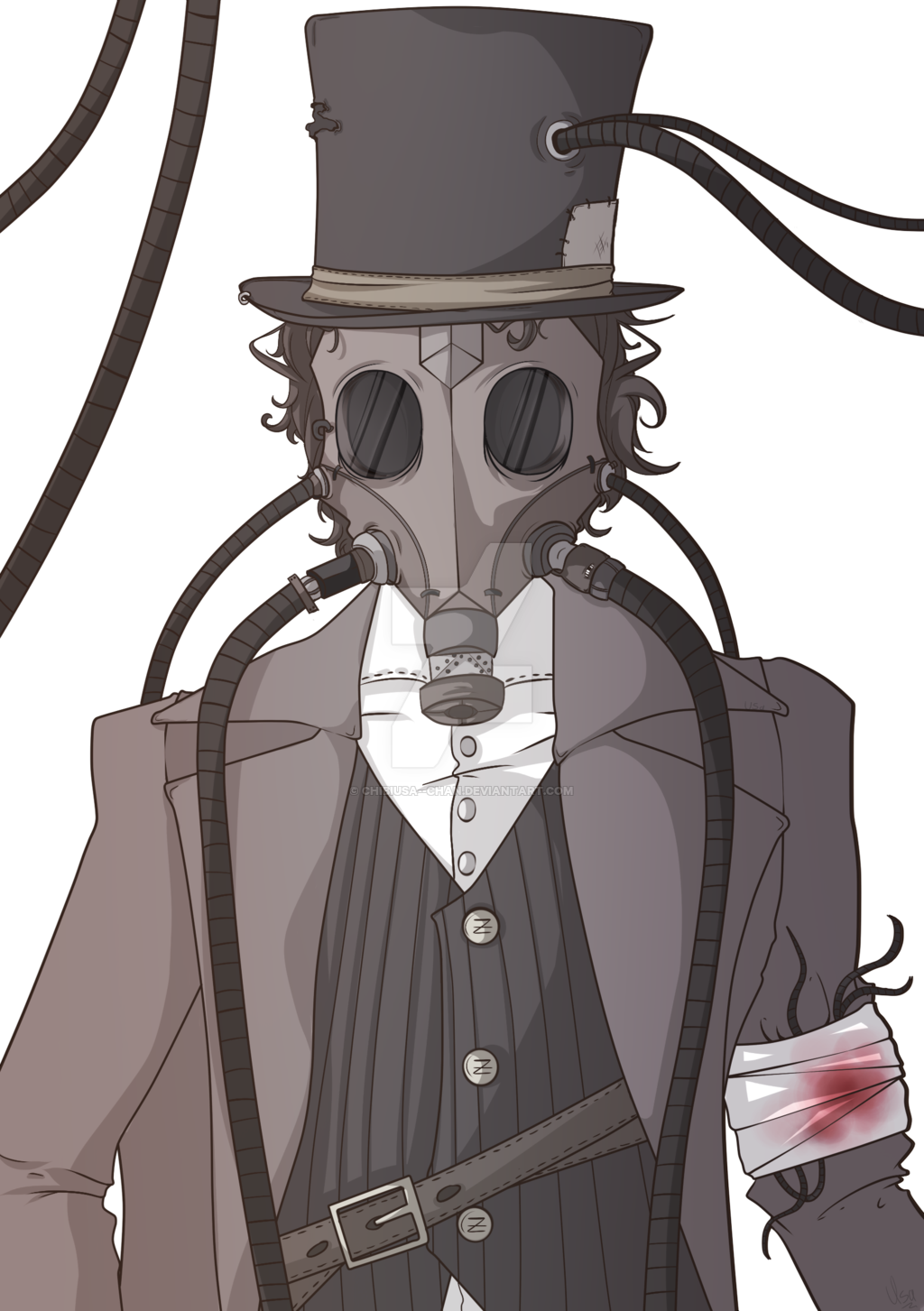 picture transparent library No eyes by chibiusa. Bloodborne drawing anime