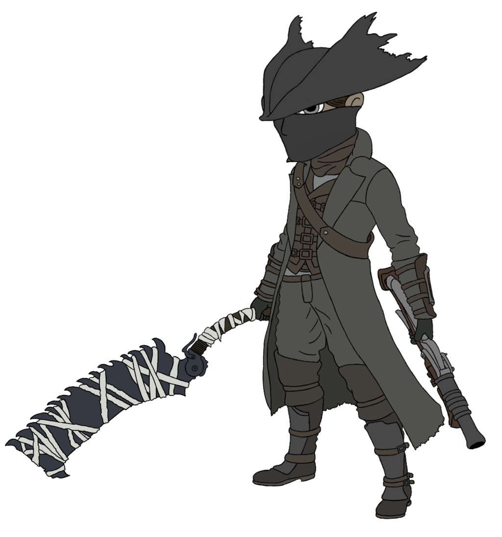 clip library library Bloodborne drawing anime. New how to draw