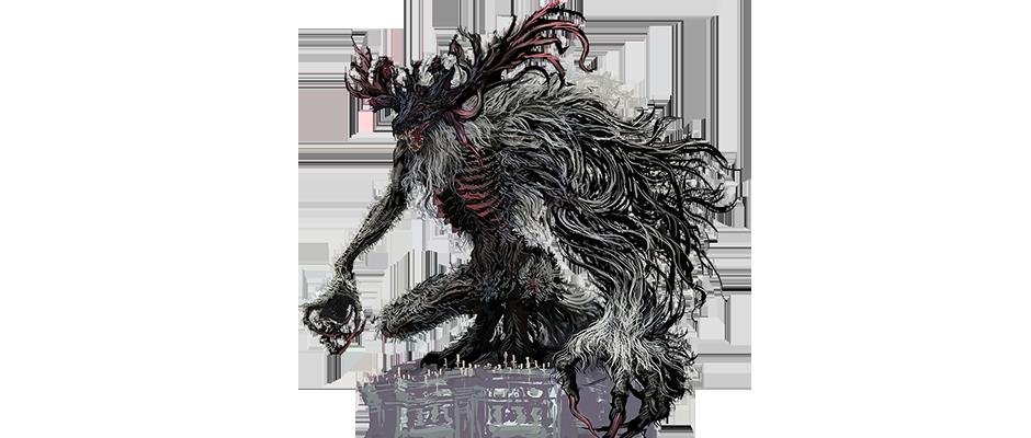 graphic royalty free Bestia videojuegos pinterest . Bloodborne drawing demon