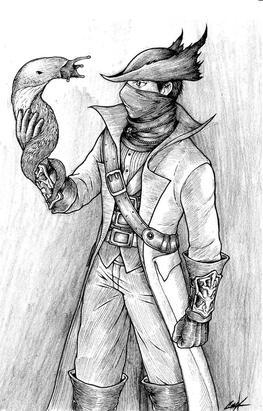 clip art download Bloodborne drawing demon. Augur of ebrietas by