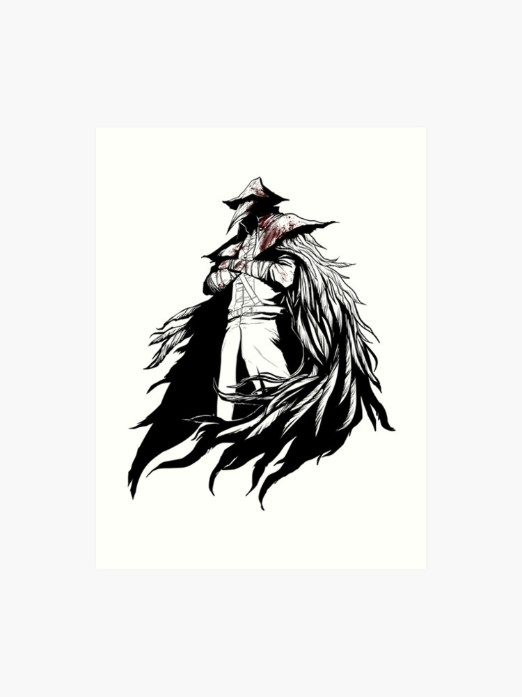 transparent download Art print . Bloodborne drawing eileen the crow