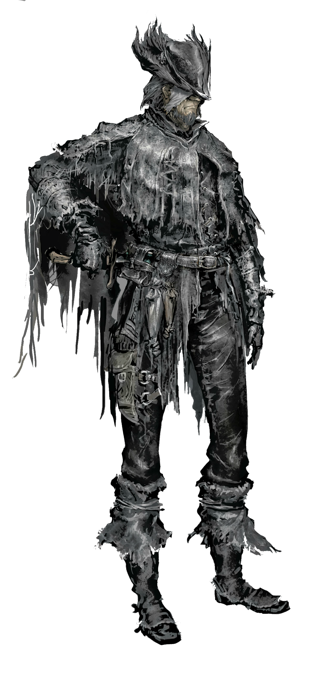 vector library stock Bloodborne drawing hunter. Retired djura vs battles