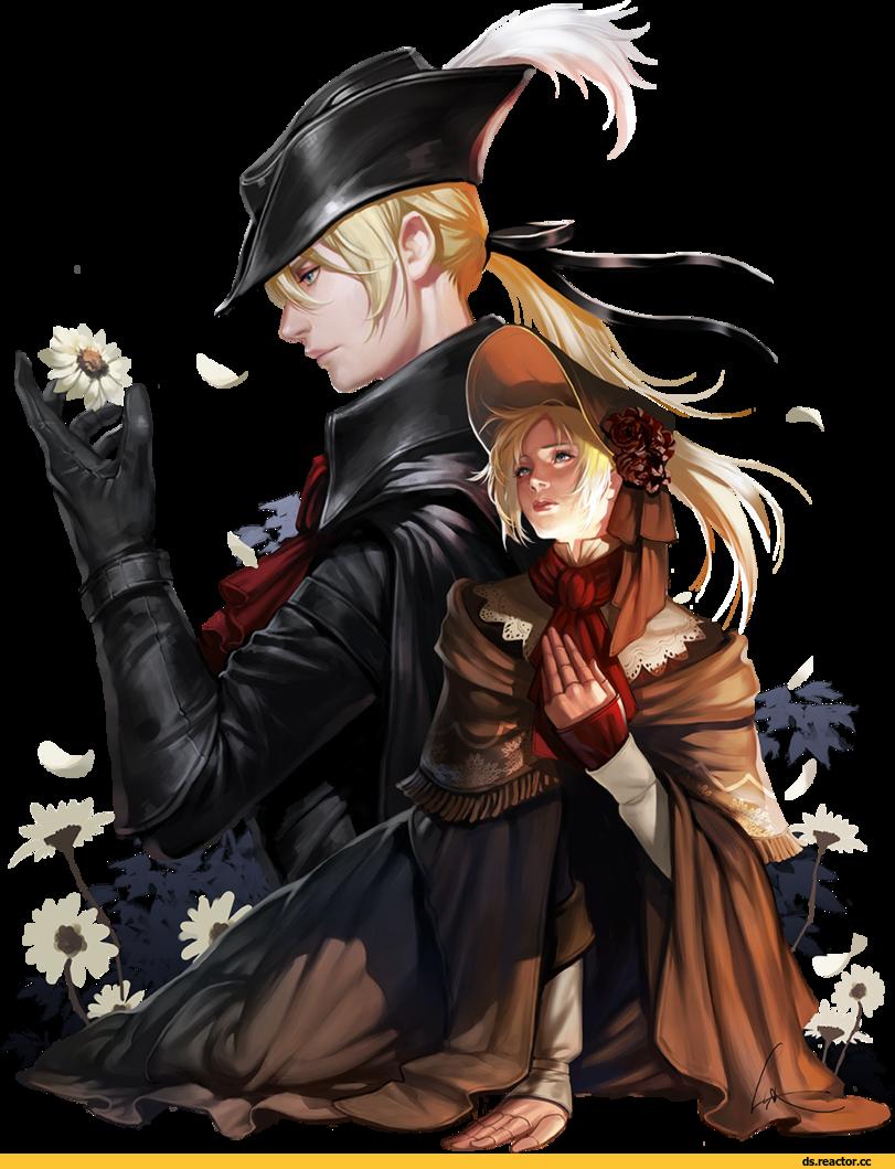 black and white download Lsr hunter bb dark. Bloodborne drawing maria