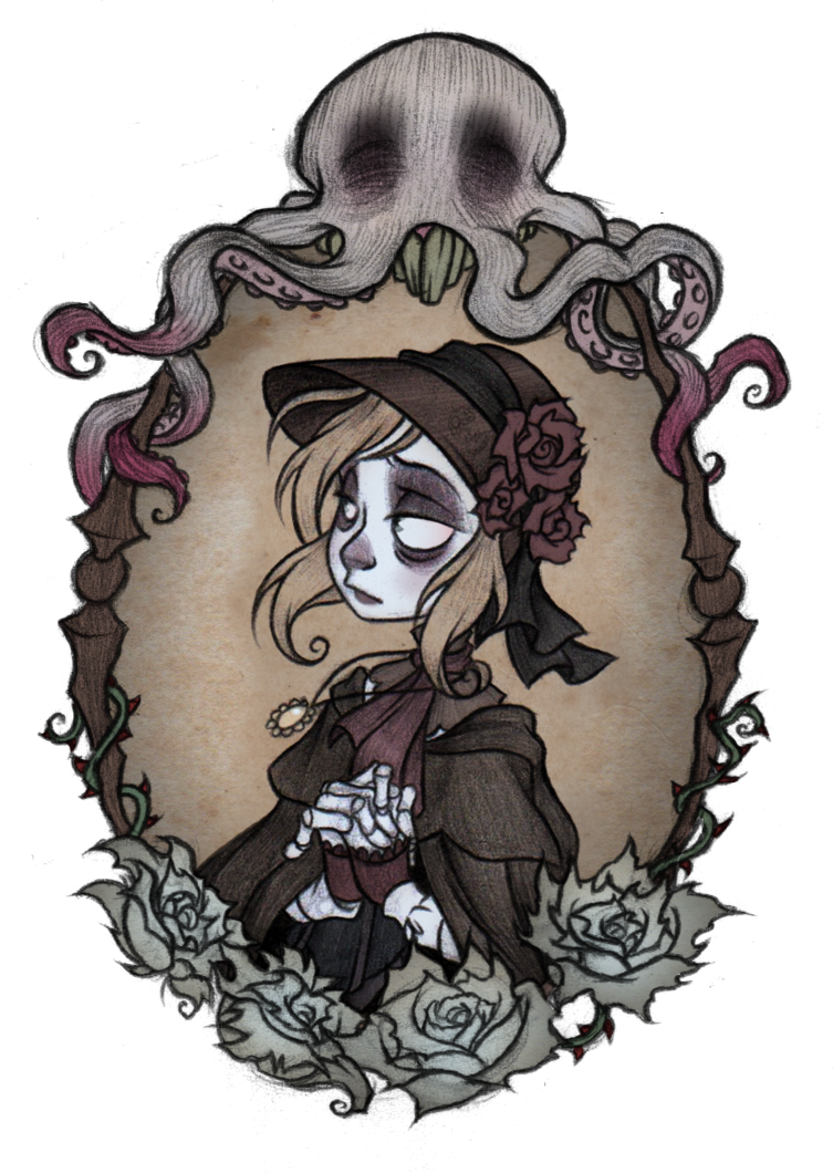 clip library Bloodborne drawing maria. Lady s derivative by