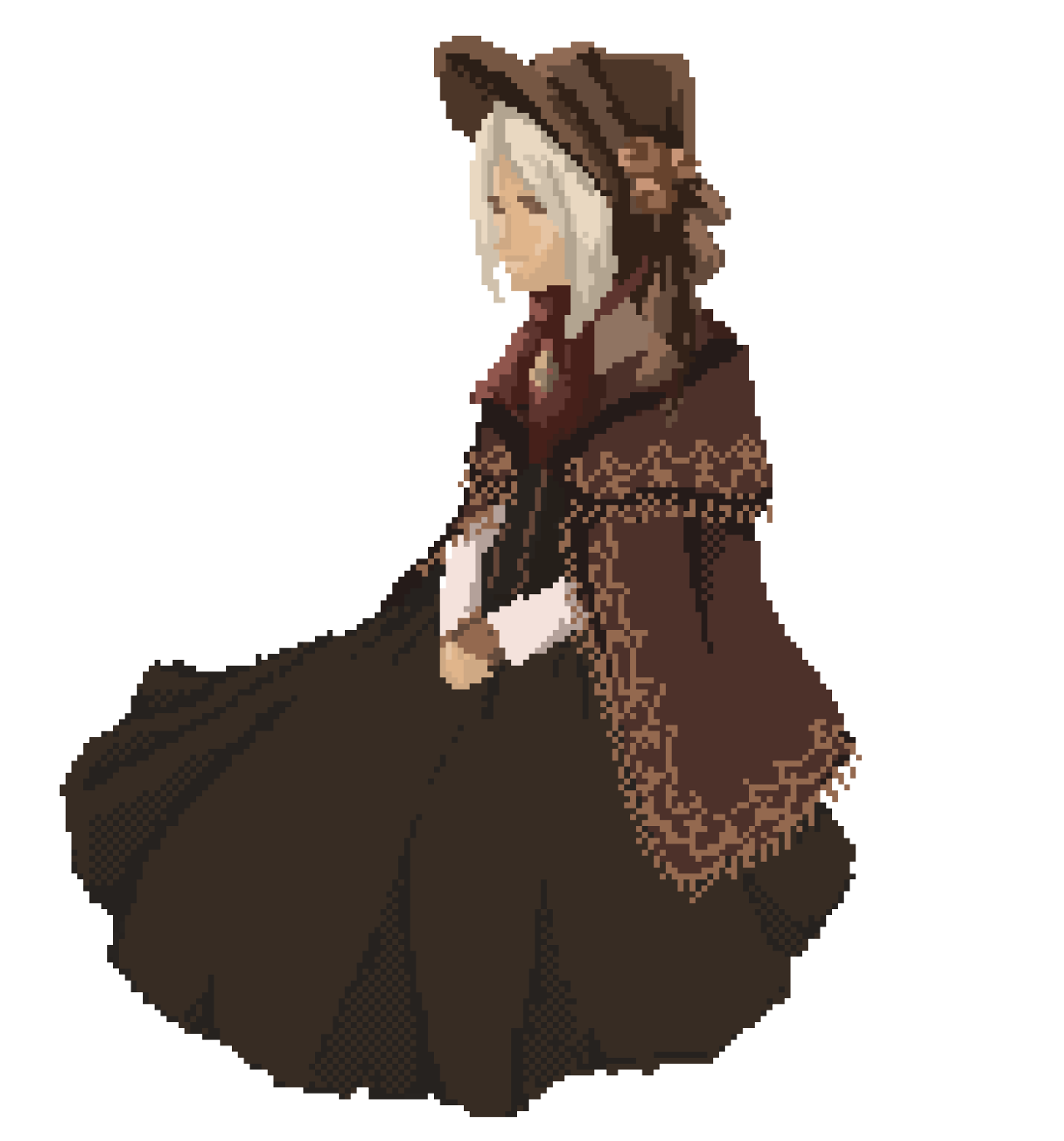 png transparent library Fan art the doll. Bloodborne drawing messengers