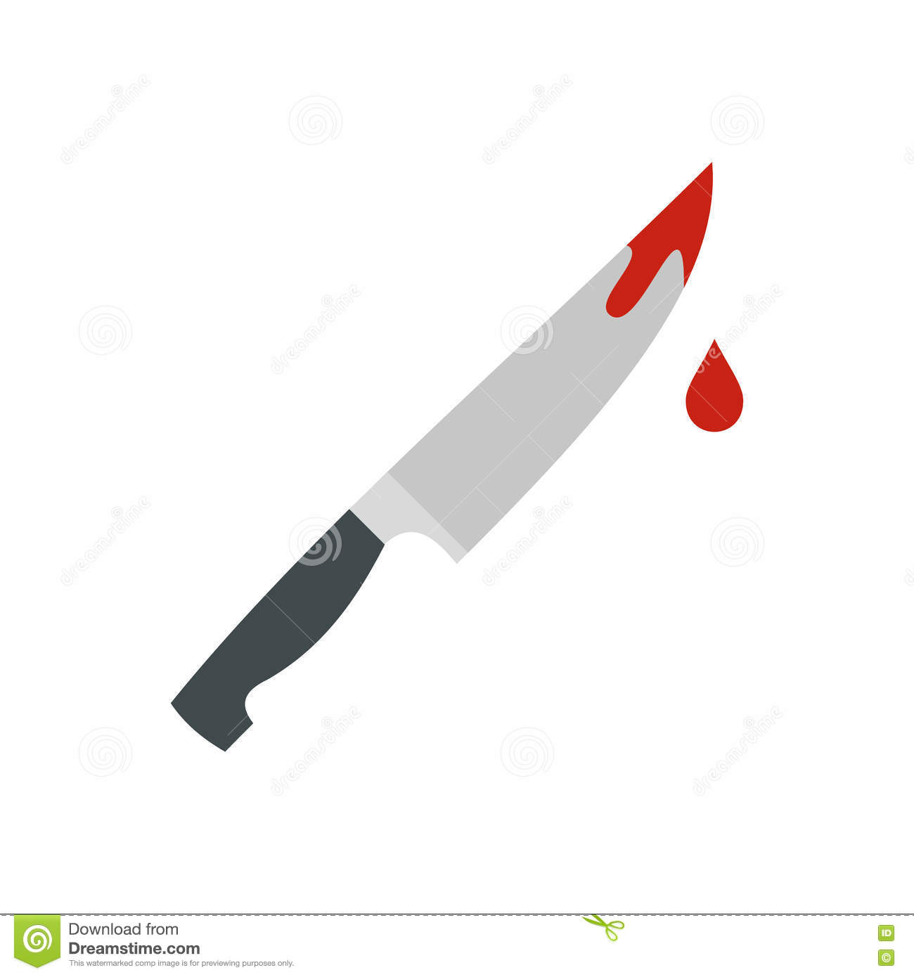 image free stock Station . Bloody knife clipart