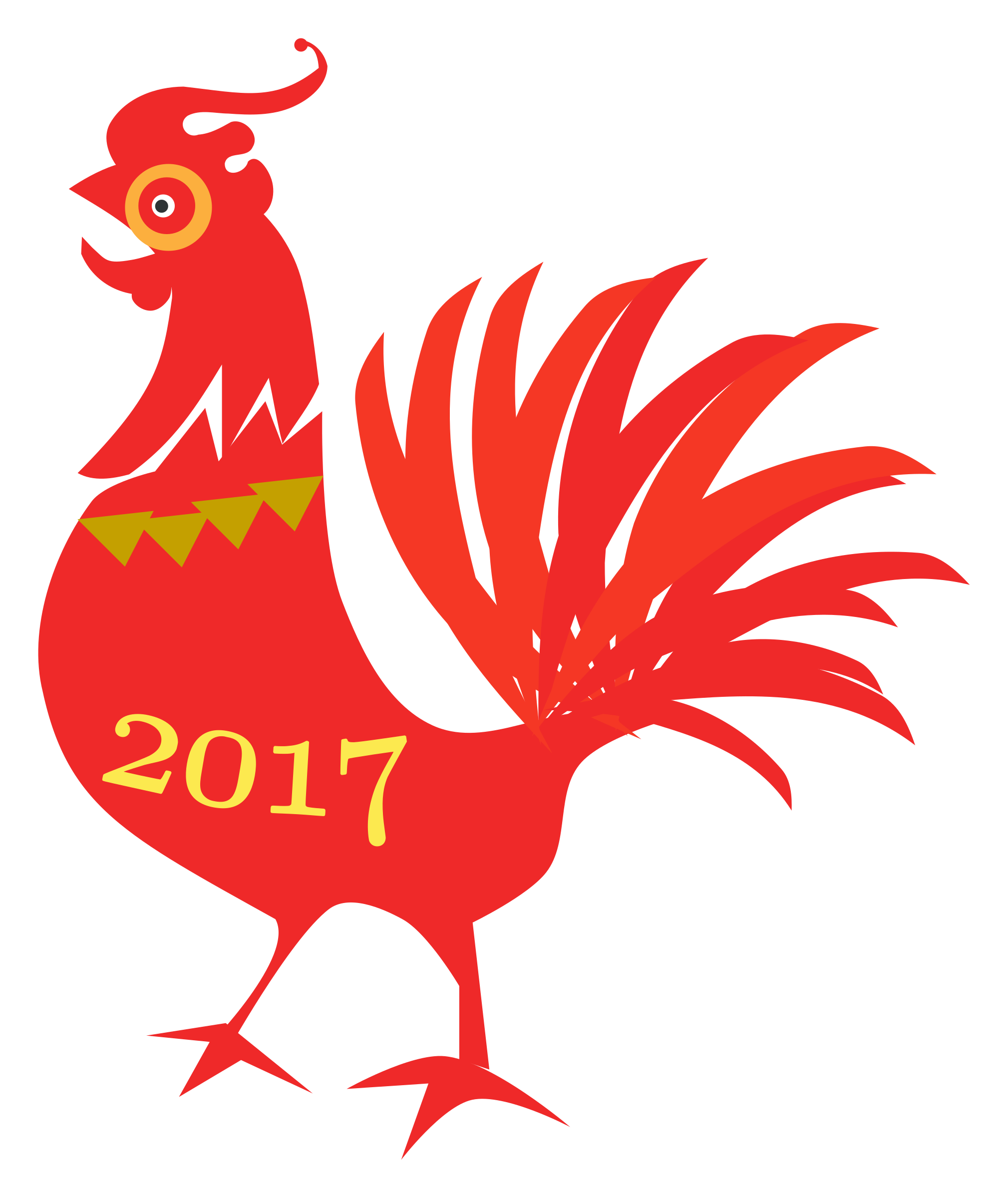 svg free library Year clipart chicken.  beauty chinese new