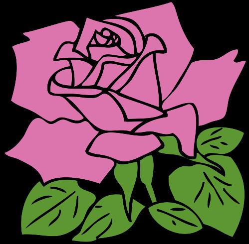 svg transparent download Free public domain flower. Blossom clipart rose.