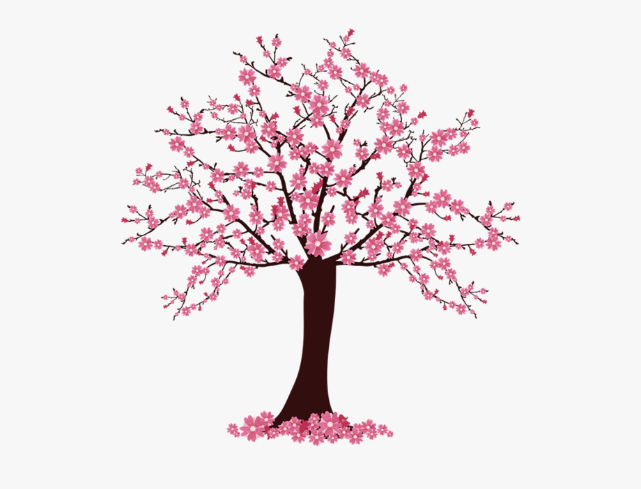 picture library library Cherry clip art easy. Blossom clipart tree