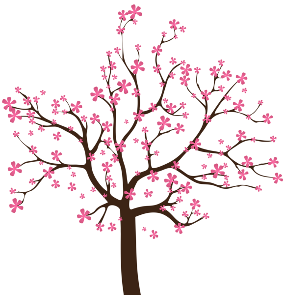 picture transparent Blossom clipart tree. Pin by marina on