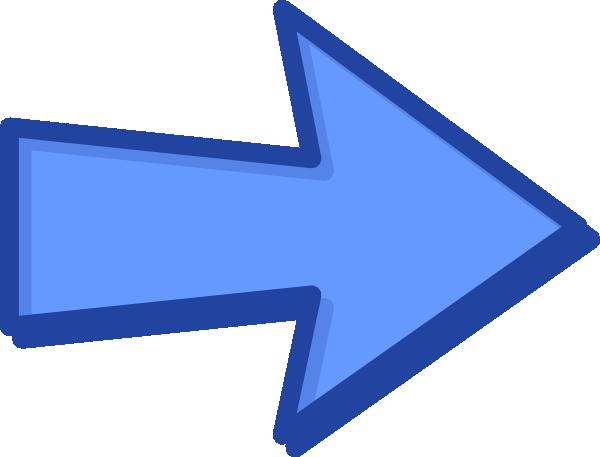svg transparent download Blue arrow clipart. Clip art at clker.