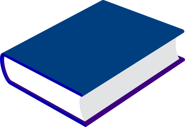 png freeuse stock Blue Book Clip Art at Clker