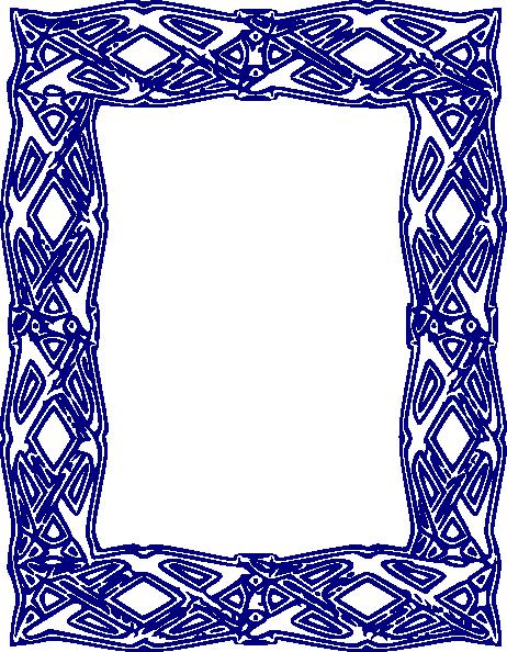 jpg transparent stock Border clip art at. Blue borders clipart