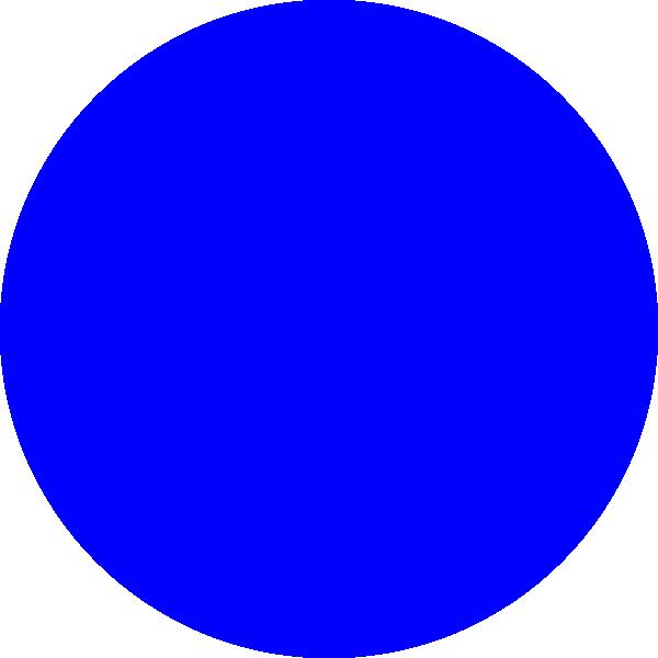 clip freeuse Blue Circle Clip Art at Clker