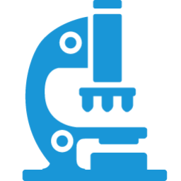 clip art black and white library Free on dumielauxepices net. Blue clipart microscope.
