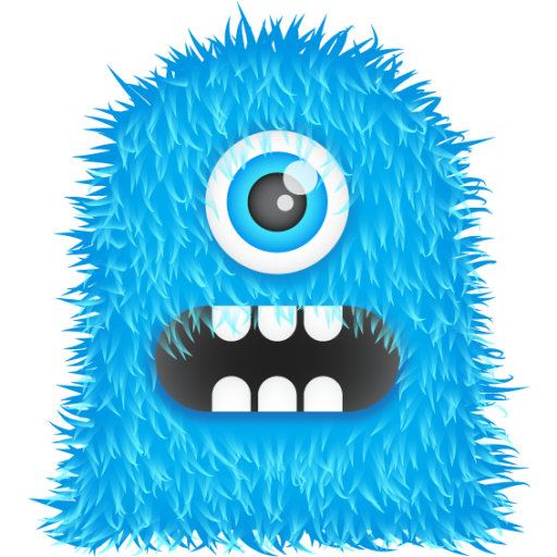 svg stock Blue clipart monsters. Monster free on dumielauxepices.