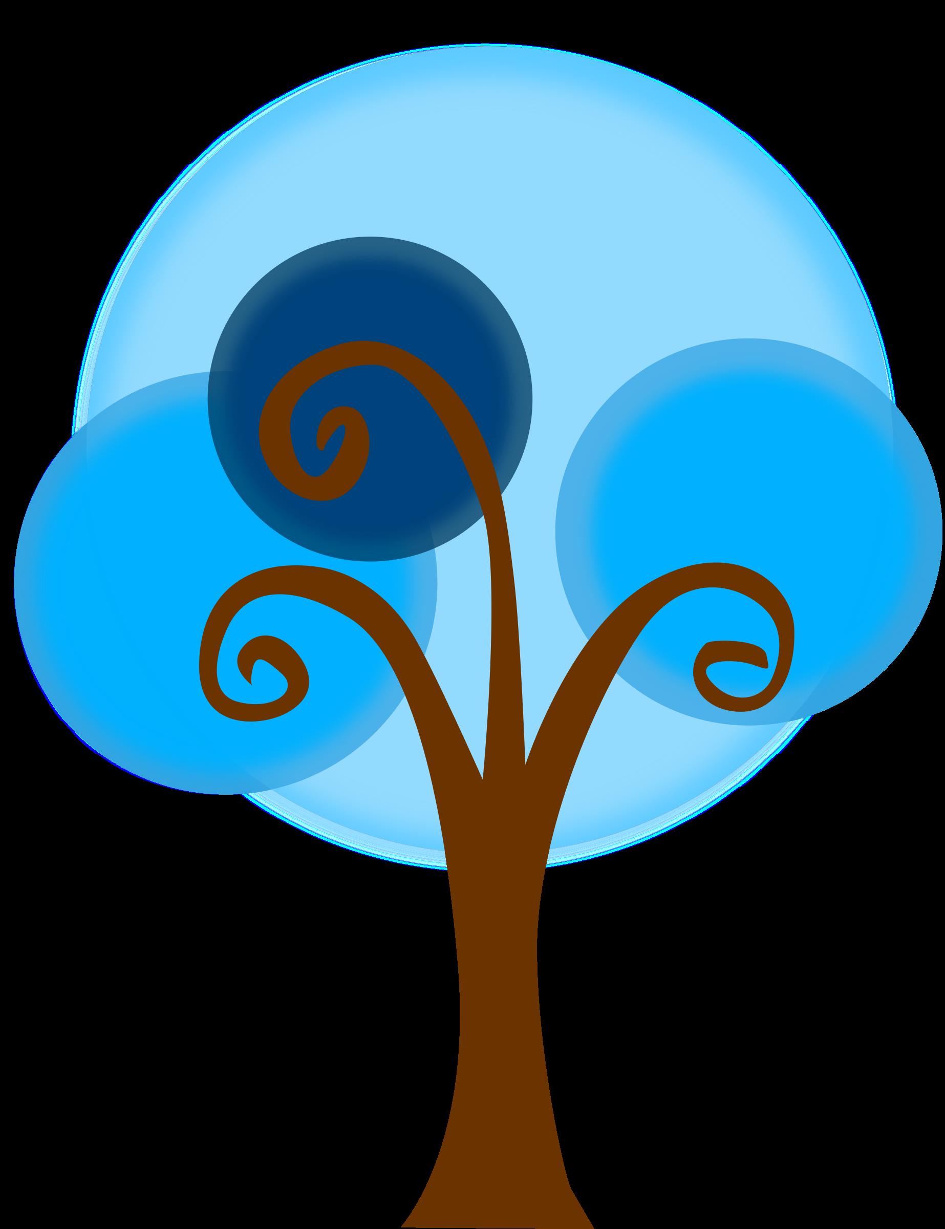 jpg stock . Blue clipart tree.