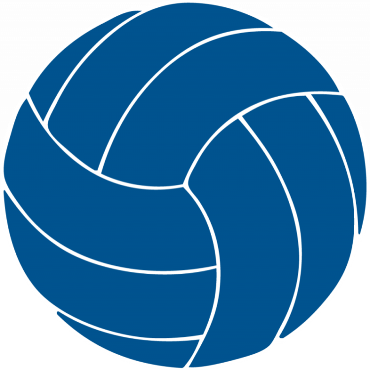 graphic freeuse stock Blue clipart volleyball. Award free on dumielauxepices.