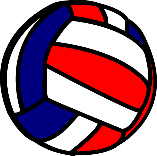 clip art black and white  collection of high. Blue clipart volleyball.