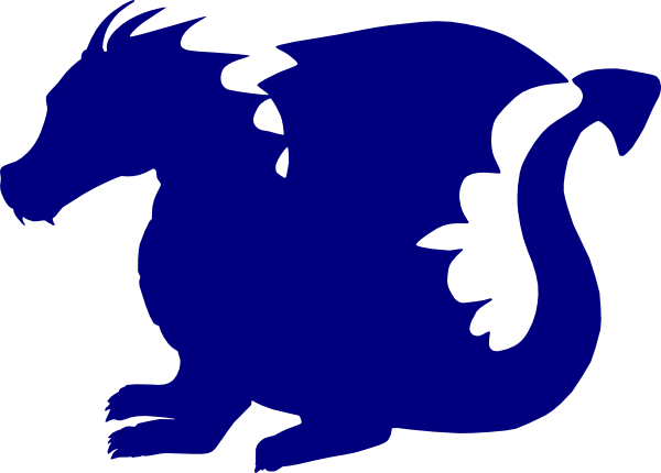 image freeuse stock Blue Dragon Clipart at GetDrawings