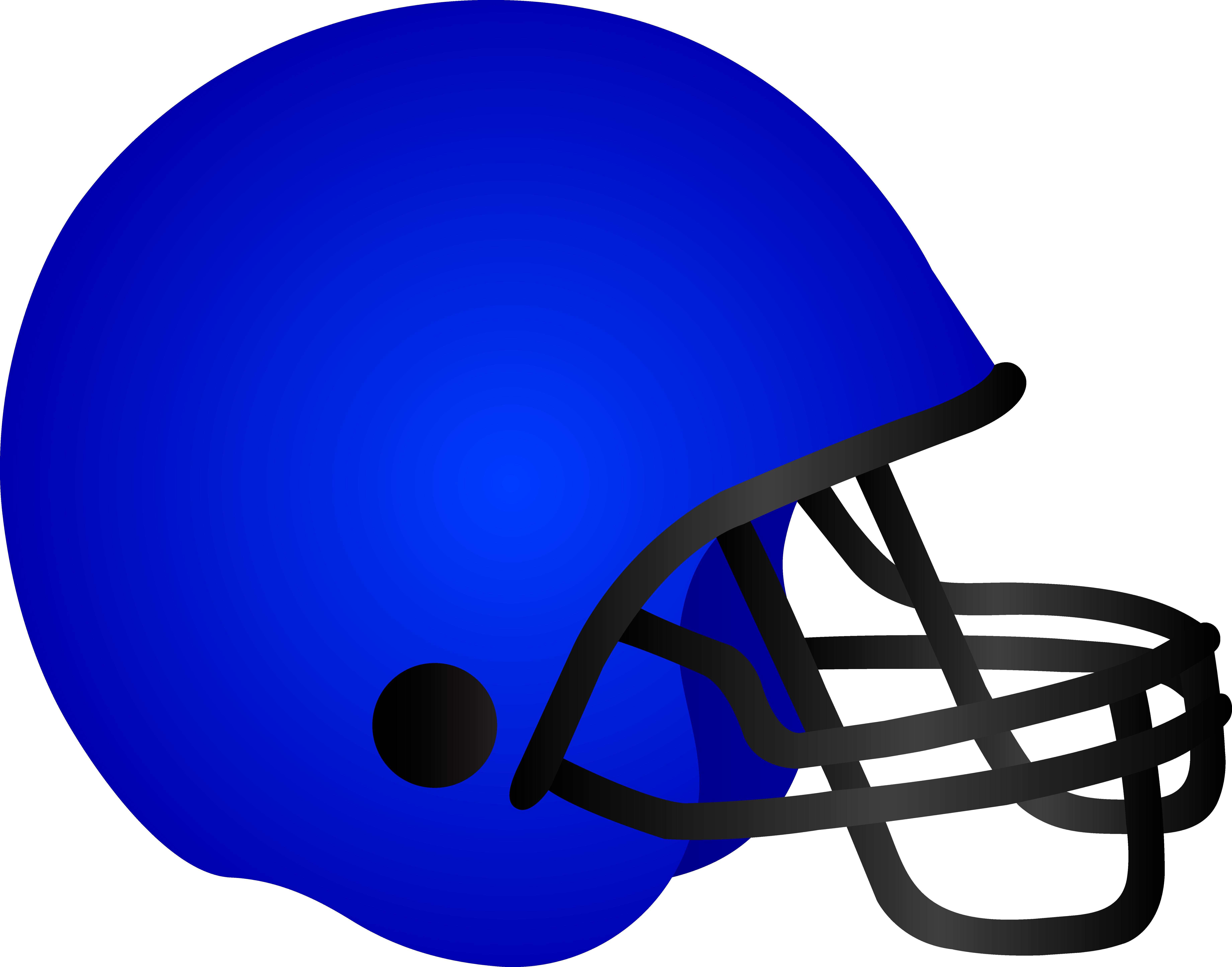 jpg library download Helmet clipart. Blue football free clip