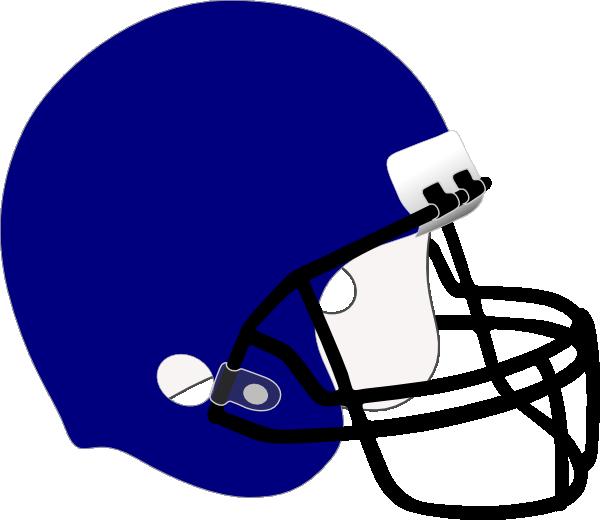 graphic download Blue Football Helmet Clip Art at Clker