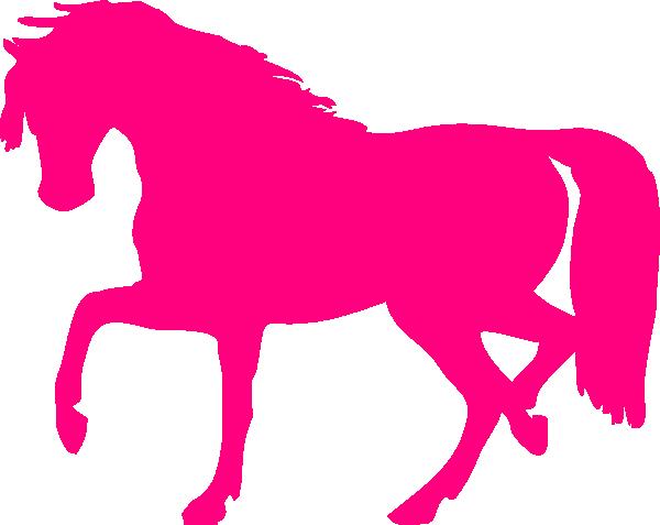 png Pink Horse Clip Art at Clker