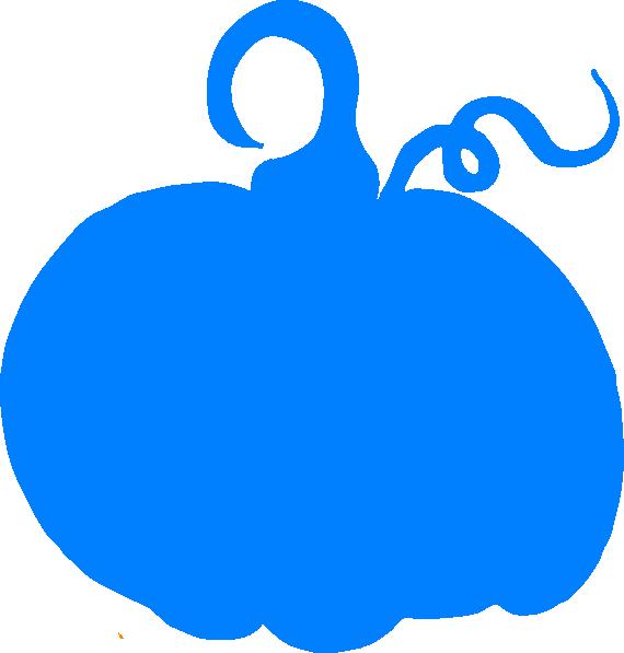 clip art library library Blue Pumpkin Clipart