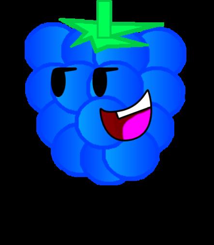 clip art transparent Blue Raspberry