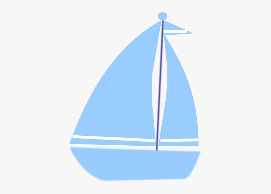 clip library download Sailboat clip art boat. Yacht clipart blue baby