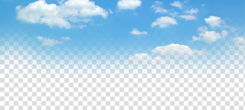 png royalty free download Transparent sky. Blue and white clouds
