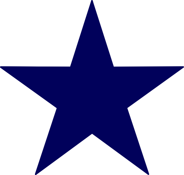clip art freeuse download Western stars clipart. Navy blue star