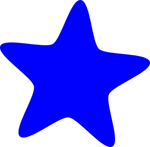 png free stock Blue Star Clip Art at Clker