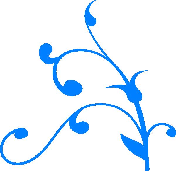 jpg royalty free stock Blue Swirl Clip Art at Clker