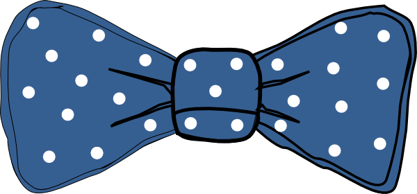 clip freeuse download Bow Tie White Clip Art at Clker
