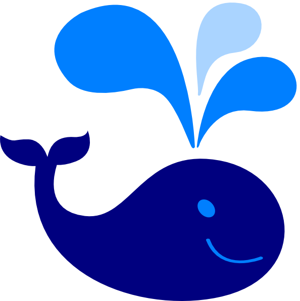 jpg free Baby clip art at. Blue whale clipart.