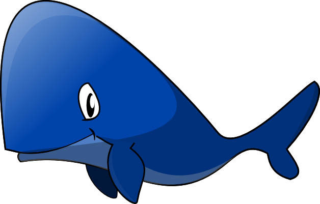 free Free download clip art. Blue whale clipart.