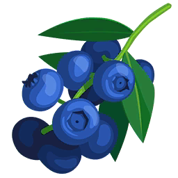 image transparent stock Blueberries paradise bay wikia. Berry clipart wild berry