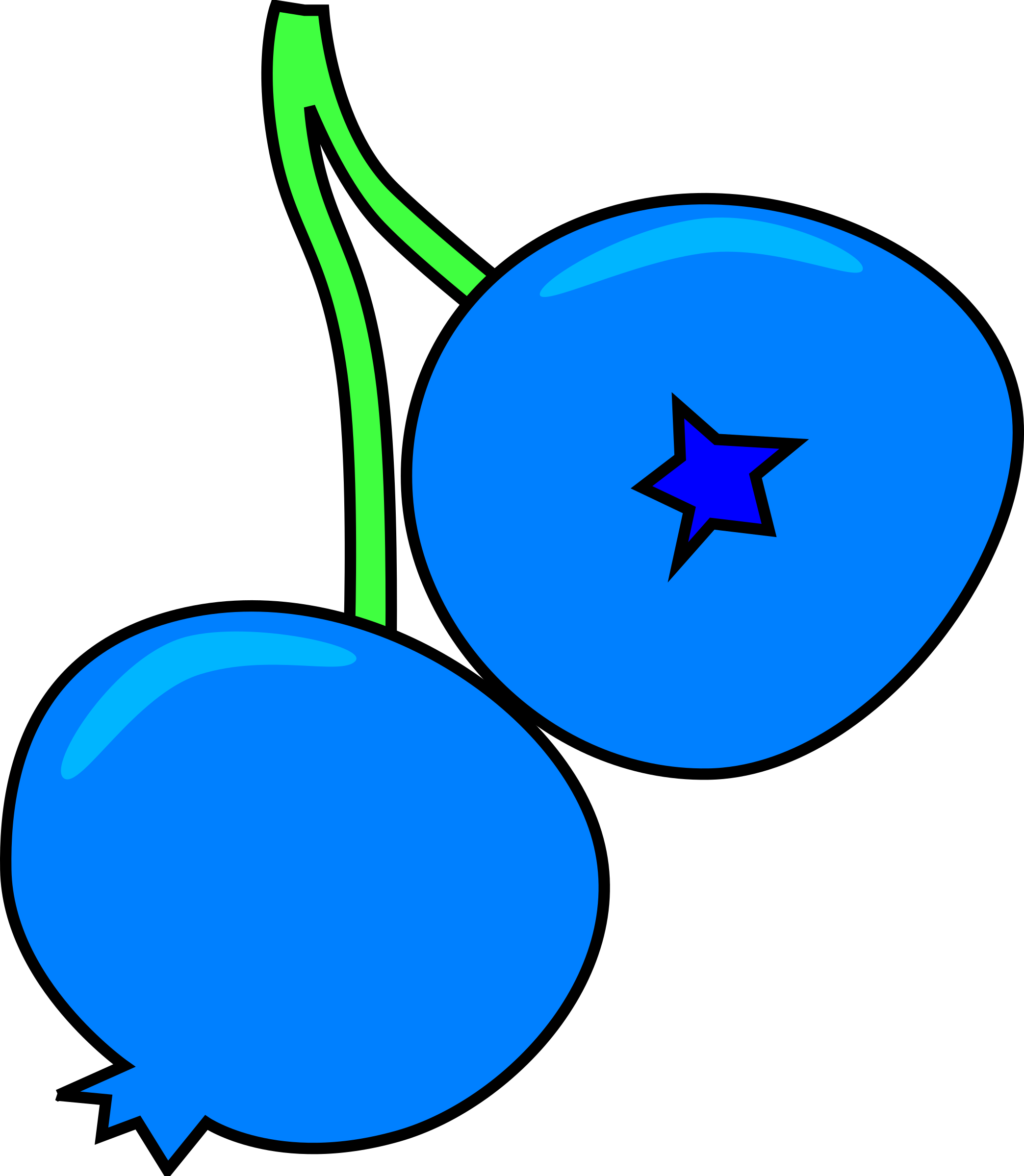 freeuse library Big image png. Blueberry clipart blue berry.