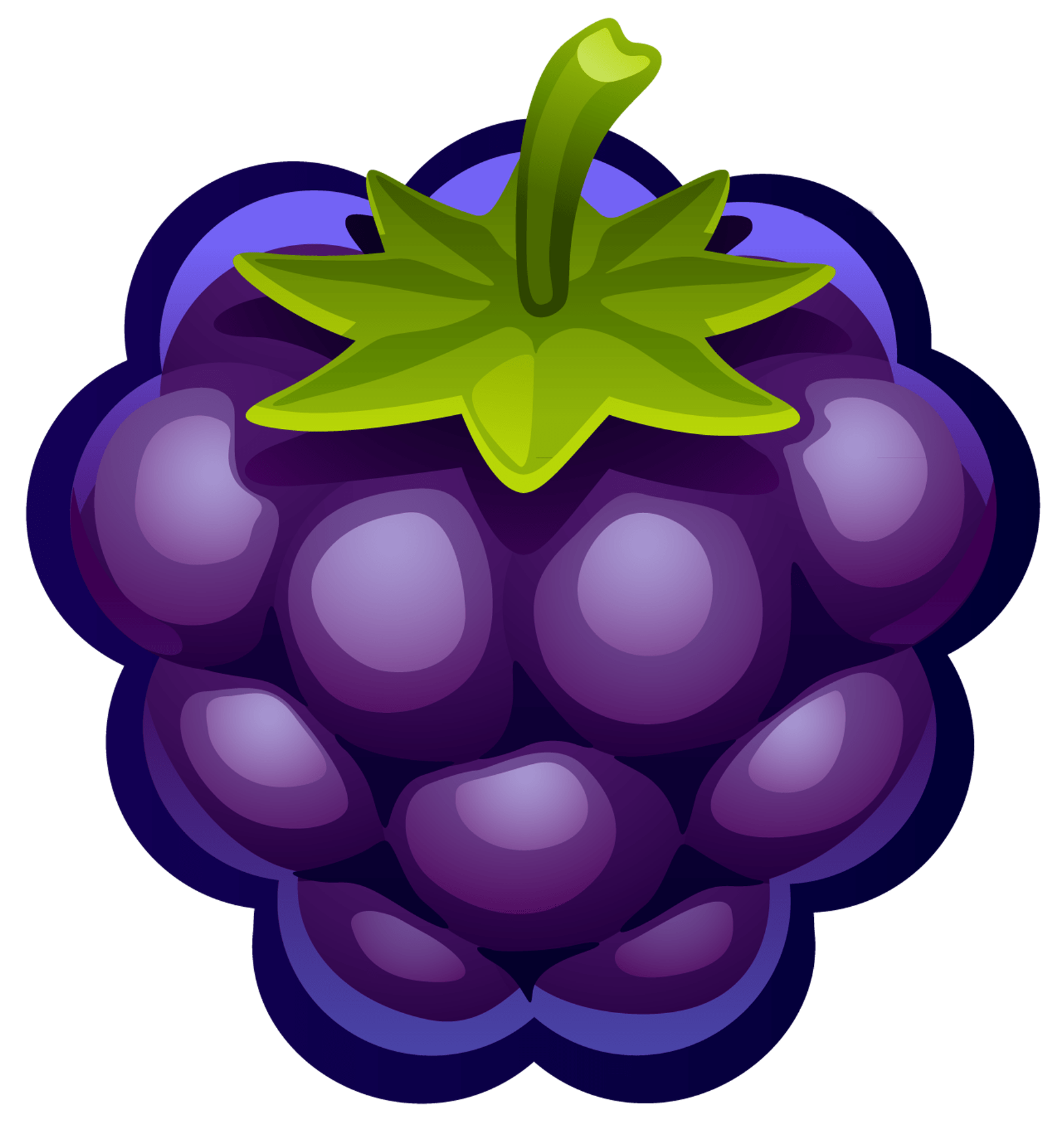 svg royalty free stock Blueberry clipart. Transparent png stickpng