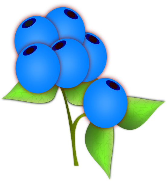 image royalty free Blueberries clip art at. Blueberry clipart blue berry.