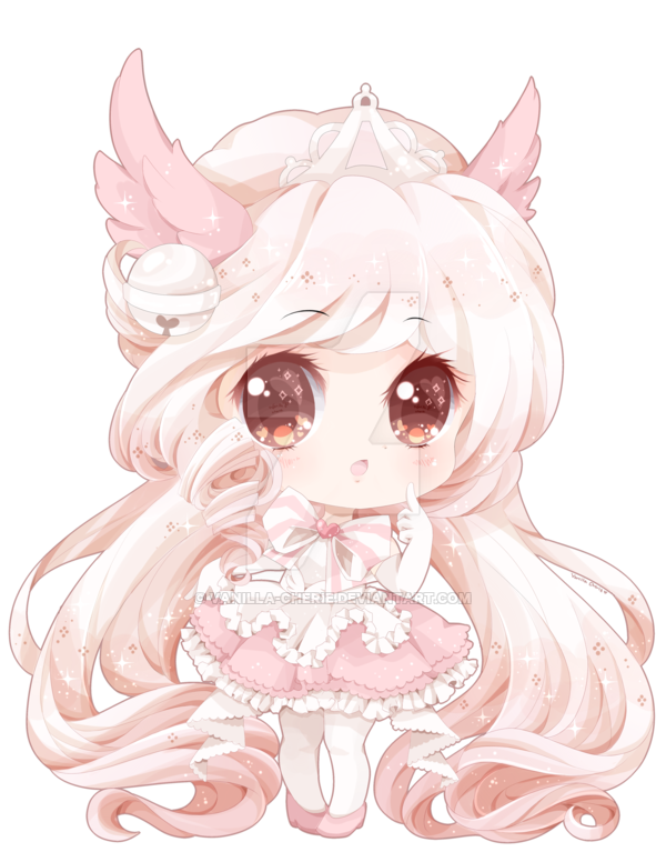 image royalty free Drawing princess kawaii cute.  blush tumblr for
