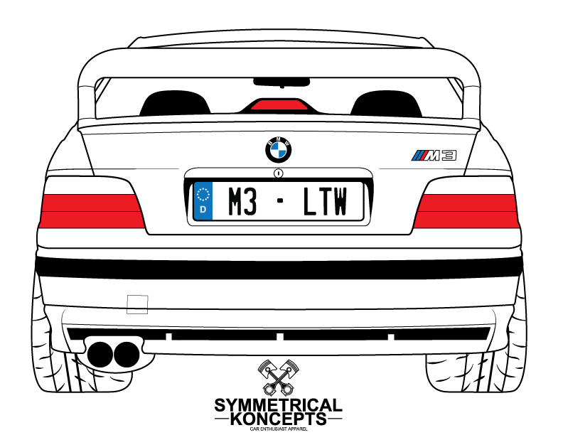 graphic transparent stock vector auto car bmw #107431048