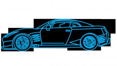 svg transparent download draw car